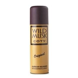 Desodorante Spray Coty 90 ml Wild Musk