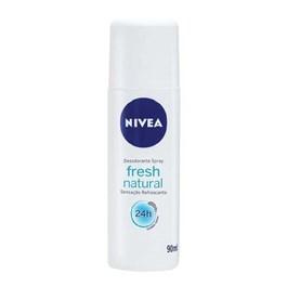 Desodorante Spray Nivea Feminino 90 ml Fresh Natural