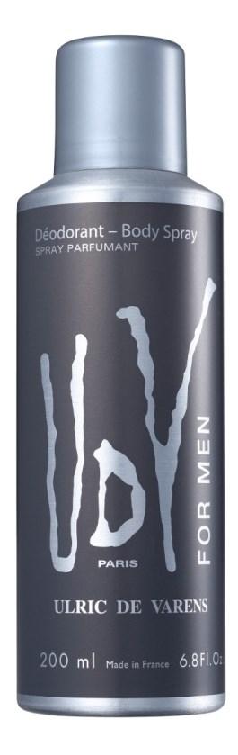 Desodorante Spray Ulric de Varens Udv For Men 200 ml