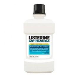 Enxaguante Bucal Listerine 250 ml Antimanchas