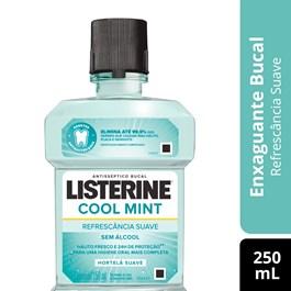 Enxaguante Bucal Listerine 250 ml Zero Menta Suave