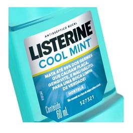 Enxaguante Bucal Listerine 60 ml Cool Mint
