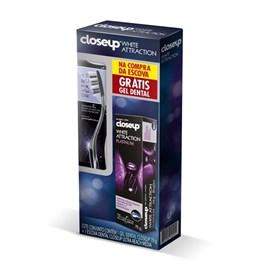 Escova Dental Close Up Ultra Reach Média Grátis Gel Dental 70 gr