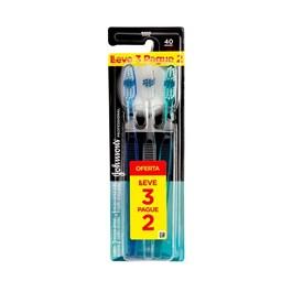 Escova Dental Johnson & Johnson Reach Profissional Macia Leve 3 Pague 2 Unidades