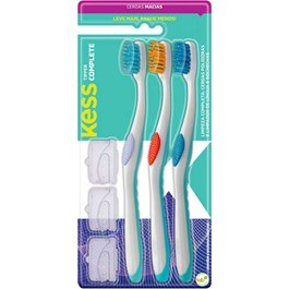 Escova Dental Kess Complete Tipper Macia