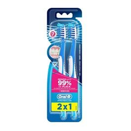 Escova Dental Oral-B Pro-Saúde 7 Benefícios 2 Unidades