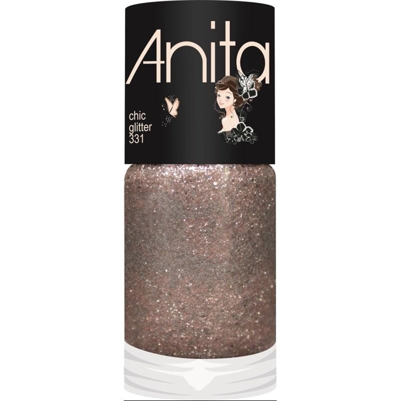Esmalte Anita 6 Tons de Nude Glitter 10 ml Chic 331