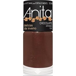 Esmalte Anita Delícias de Inverno Perolado 10 ml Chocolate 133