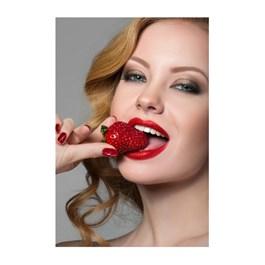 Esmalte Anita Frutas Vermelhas Perolado 10 ml Morango 119