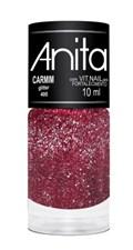 Esmalte Anita Glitter 10 ml Carmim 400