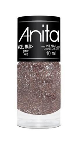 Esmalte Anita Glitter 10 ml #Deu Match 402