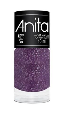 Esmalte Anita Glitter 10 ml #Love 404