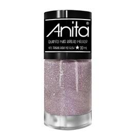 Esmalte Anita Quanto Mais Brilho Melhor 10 ml Trabalhada no Glow