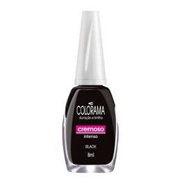 Esmalte Colorama Cremoso 8 ml Black