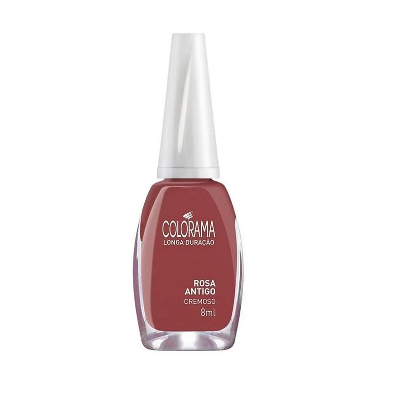 Esmalte Colorama Cremoso 8 ml Rosa Antigo