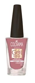 Esmalte Colorama Efeito Gel 8 ml A Vida em Rosa
