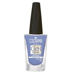 Esmalte Colorama Efeito Gel 8 ml Azul Bebê
