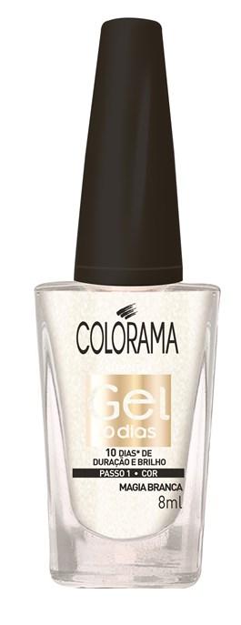 Esmalte Colorama Efeito Gel 8 ml Magia Branca