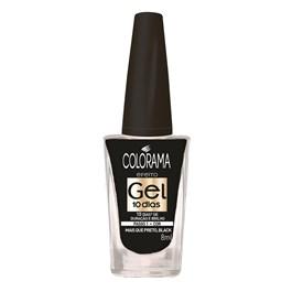 Esmalte Colorama Efeito Gel 8 ml Mais Que Preto, Black