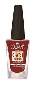Esmalte Colorama Efeito Gel 8 ml Vermelha Obessessão