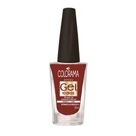 Esmalte Colorama Efeito Gel 8 ml Vermelha Obsessão