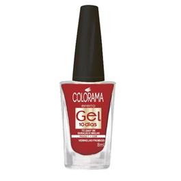Esmalte Colorama Efeito Gel 8 ml Vermelho Proibido