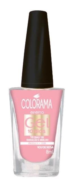 Esmalte Colorama Efeito Gel 8ml Vou de Rosa