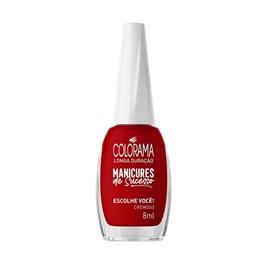 Esmalte Colorama Manicures de Sucesso Cremoso 8 ml Escolhe Você!