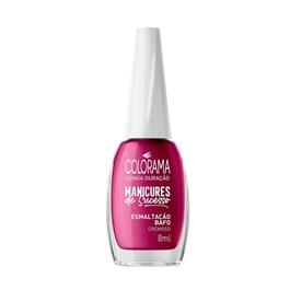 Esmalte Colorama Manicures de Sucesso Cremoso 8 ml Esmaltação Bafo