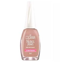 Esmalte Colorama Nudes Reais 8 ml Sem Retoque