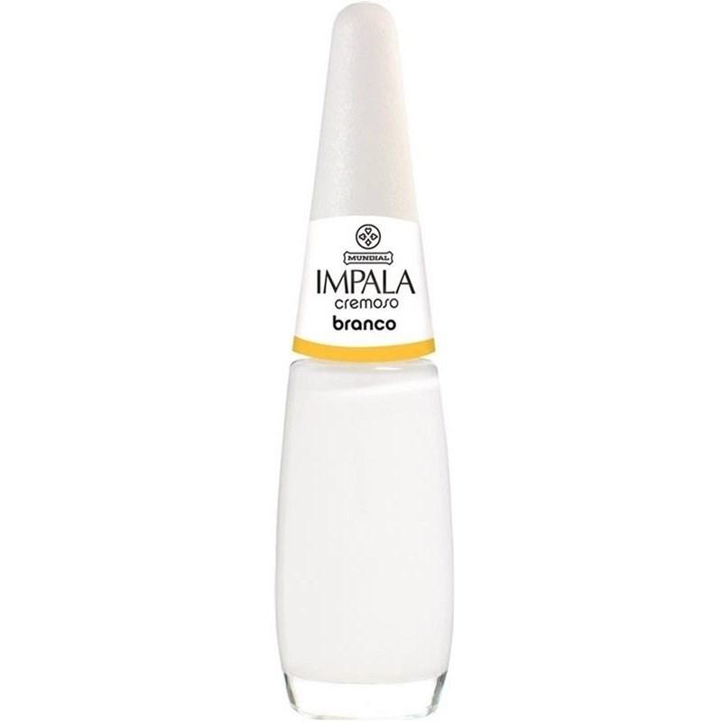 Esmalte Impala Cremoso 7,5 ml Branco