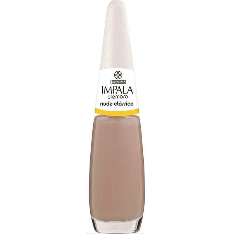 Esmalte Impala Cremoso 7,5 ml Nude Clássico
