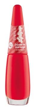 Esmalte Impala Cremoso Lollipop 7,5 ml Jujuba de Morango