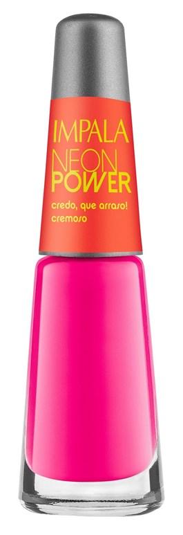 Esmalte Impala Cremoso Neon Power 7,5 ml Credo, que Arraso!