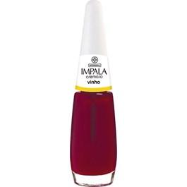 Esmalte Impala Cremoso Vinho Blister 7,5ml