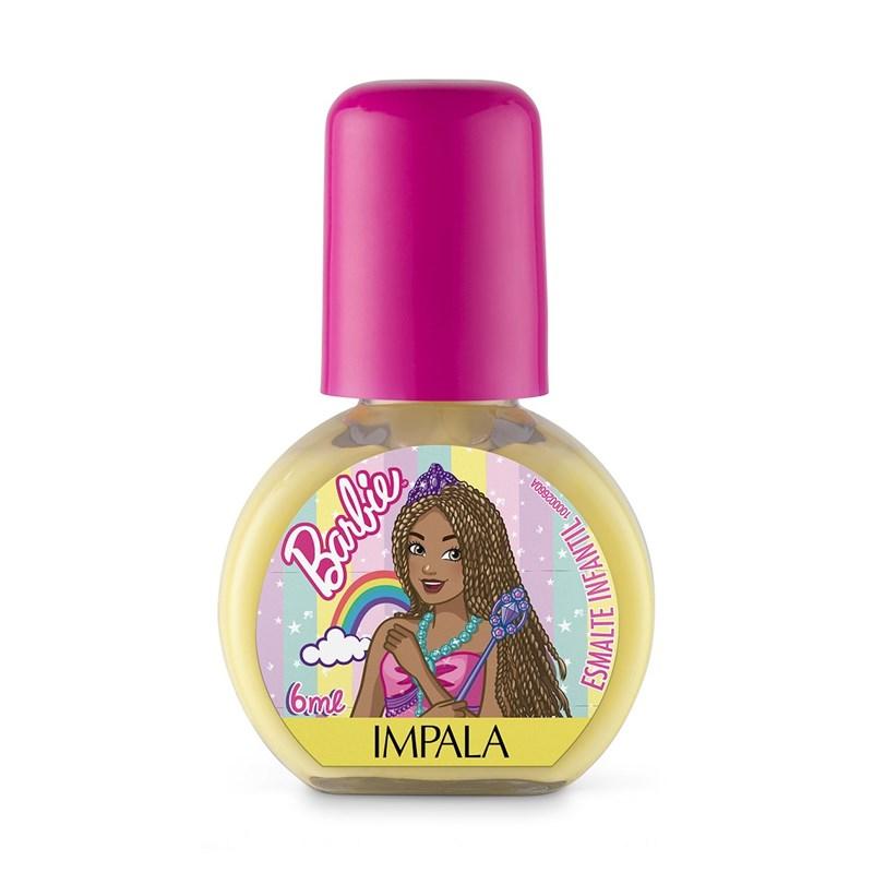 Esmalte Infantil Impala Barbie 6 ml Além do Arco Íris