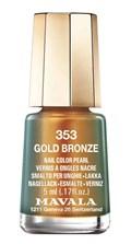 Esmalte Mavala Mini Colors Cintilante 5 ml Gold Bronze