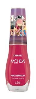 Esmalte Mohda Cremoso 10 Anos 8,5 ml Praia Vermelha