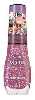 Esmalte Mohda Glitter 10 Anos 8,5 ml Porto Seguro