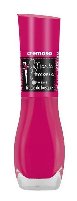Esmalte Mohda Maria Pomposa 8 ml Frutas do Bosque