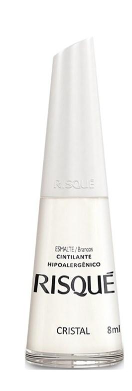 Esmalte Risqué Cintilante 8 ml Cristal