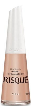 Esmalte Risqué Cremoso 8 ml Nude