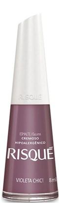 Esmalte Risqué Cremoso 8 ml Violeta Chic