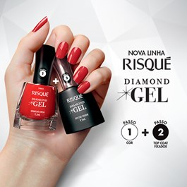 Esmalte Risqué Diamond Gel Cremoso 9,5 ml Lavanda Francesa