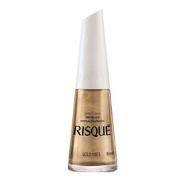 Esmalte Risqué Metálico 8 ml Gold Vibes