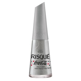 Esmalte Risqué Metálico Coca-Cola 8 ml Viva o Lado Coca-Cola da Vida