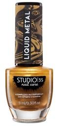 Esmalte Studio 35 Liquid Metal 9 ml #anoincrível