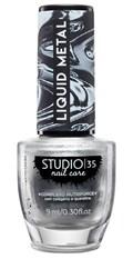 Esmalte Studio 35 Liquid Metal 9 ml #estrelacintilante