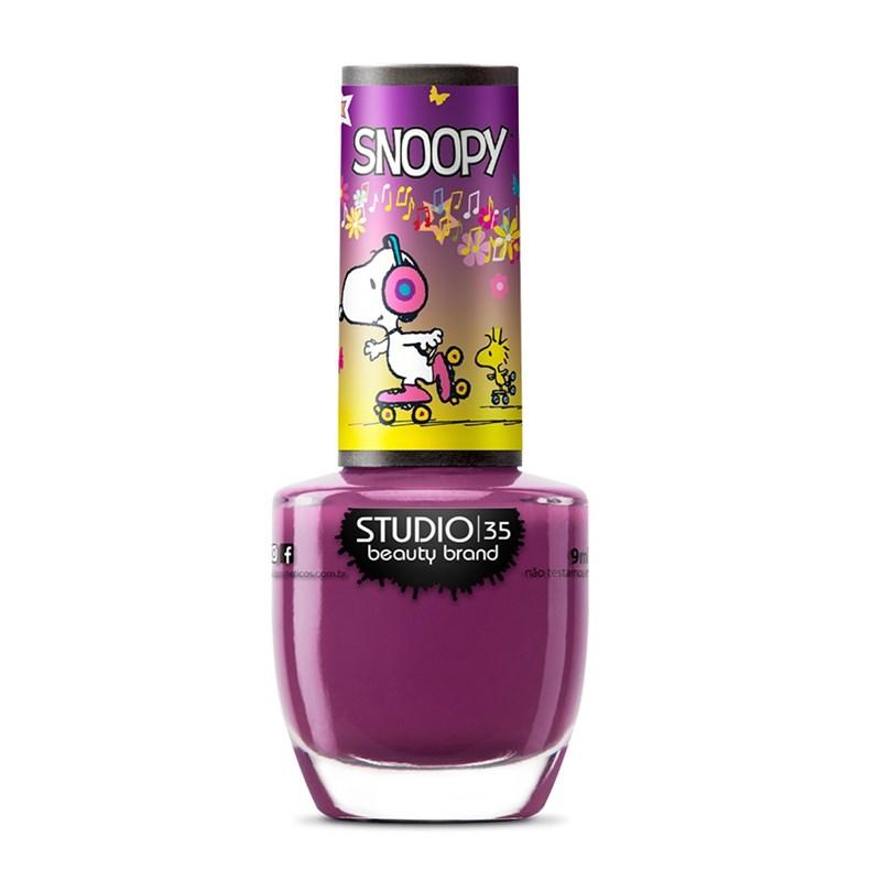 Esmalte Studio 35 Snoopy 9 ml #Snoopypatinador