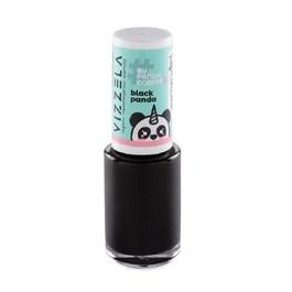 Esmalte Vizzela #BYPANDACÓRNIO 9 ml Black Panda